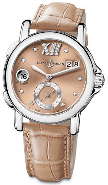 Ulysse Nardin Classic Dual Time Ladies Small Seconds