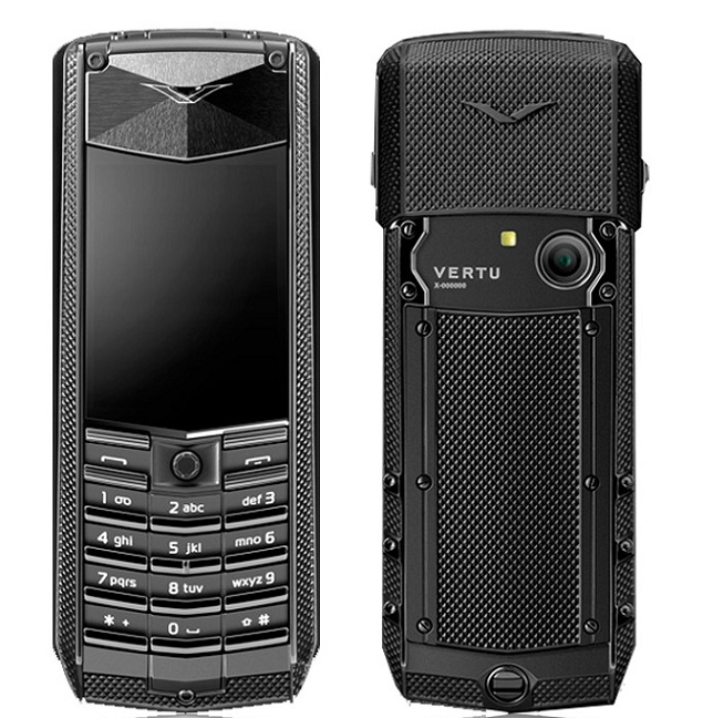 Vertu ascent X 2010 Knurled full black