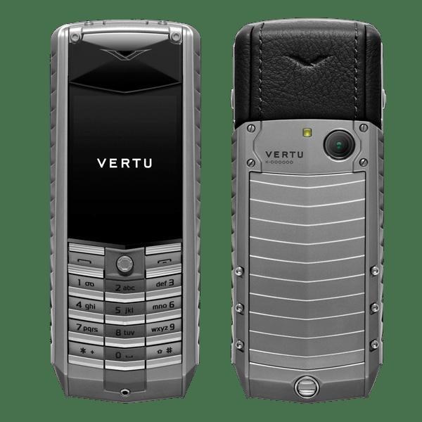 Vertu ascent X 2010 Black Titanium