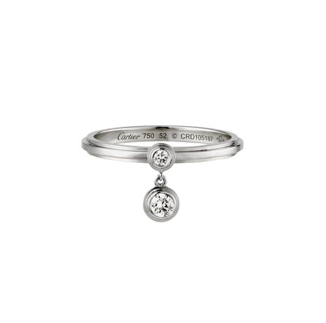 Кольцо Cartier DIAMANTS LÉGERS