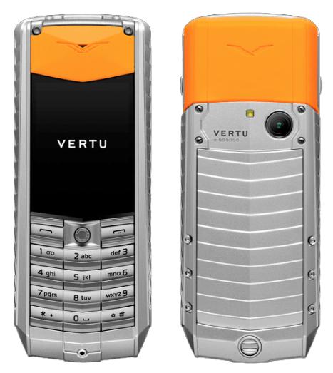 VERTU ASCENT X 2010 aluminium orange