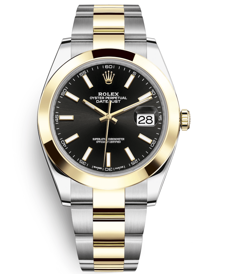 Rolex Datejust  41mm Steel and Yellow Gold