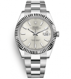 Rolex Datejust 41mm Steel and White Gold