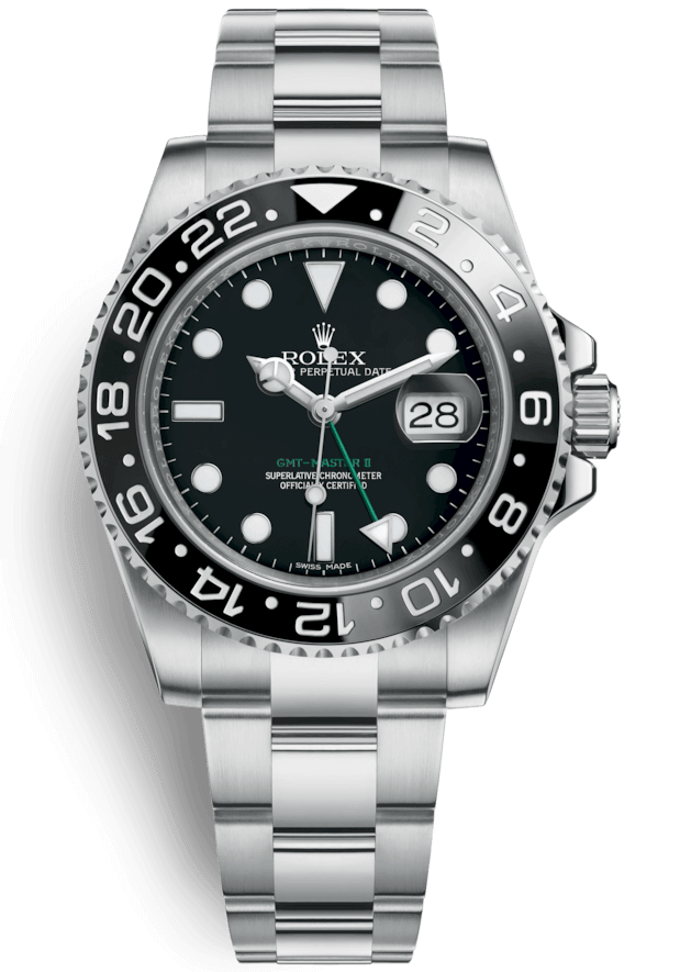 Rolex GMT Master II 40mm Steel