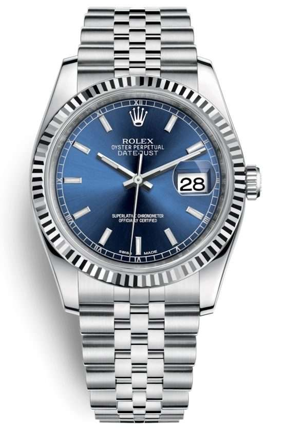 Rolex Datejust 36mm Steel and White Gold