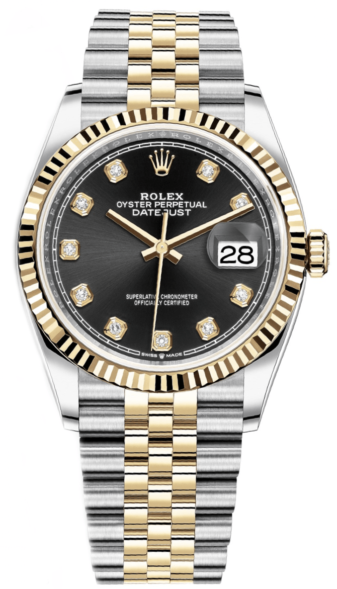 Rolex Datejust  36mm Steel and Yellow Gold