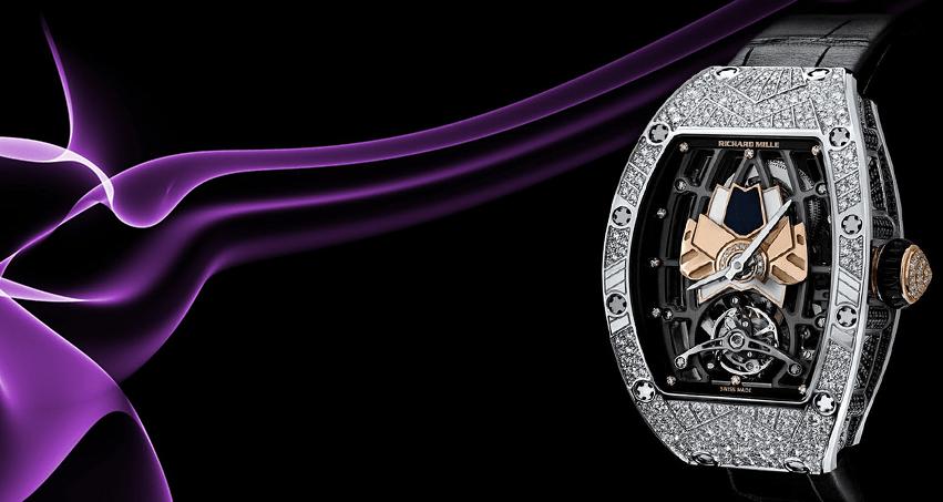 Richard Mille презентует женские часы RM 71-01 Automatic Tourbillon Talisman