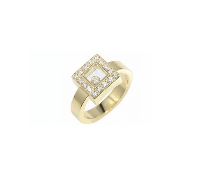 Кольцо chopard Happy Diamonds