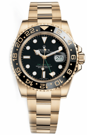 Rolex GMT Master II 40mm Yellow Gold