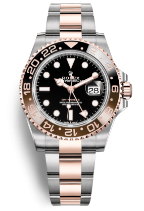 Rolex GMT Master II 40mm Steel and Everose Gold