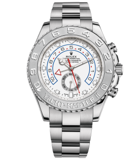 Rolex Yacht-Master II 44mm White Gold and Platinum