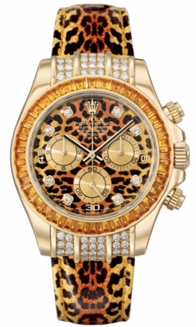 Rolex Daytona Special Edition Leopard