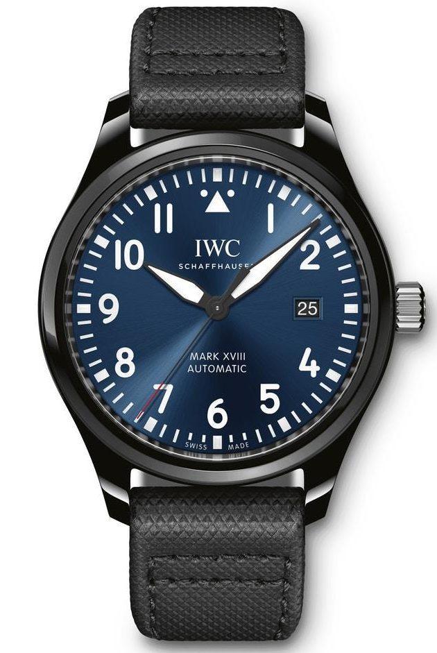 IWC Pilot`s Watches Mark XVIII Edition Laureus Sport for Good Foundation