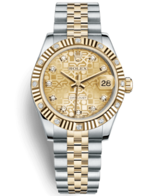 Rolex Datejust  31mm Steel and Yellow Gold