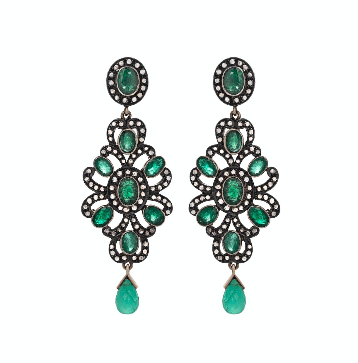 Серьги Jaipur Gems