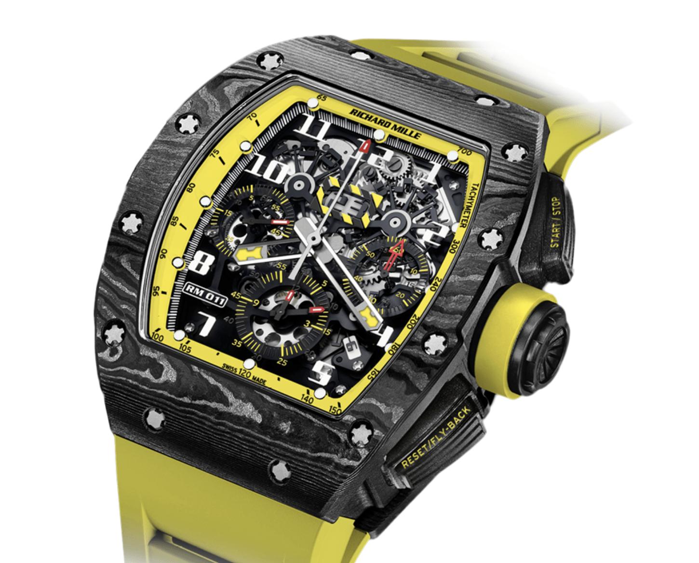 Richard Mille RM 011 Yellow Storm