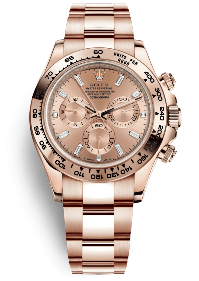 Rolex Cosmograph Daytona 40mm Everose Gold