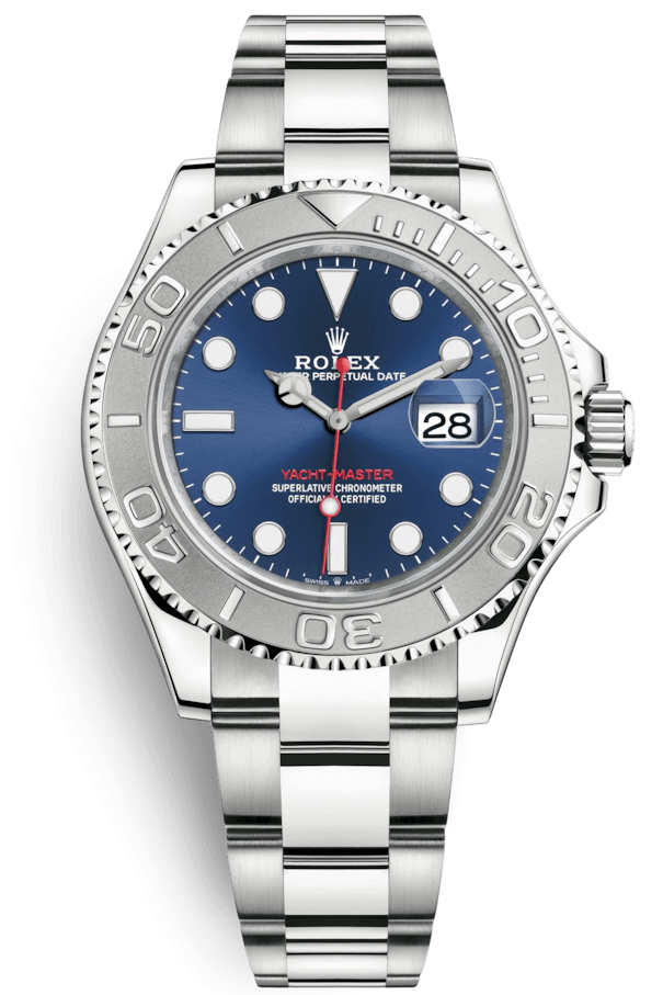 Rolex Yacht-Master 40mm Oystersteel and Platinum
