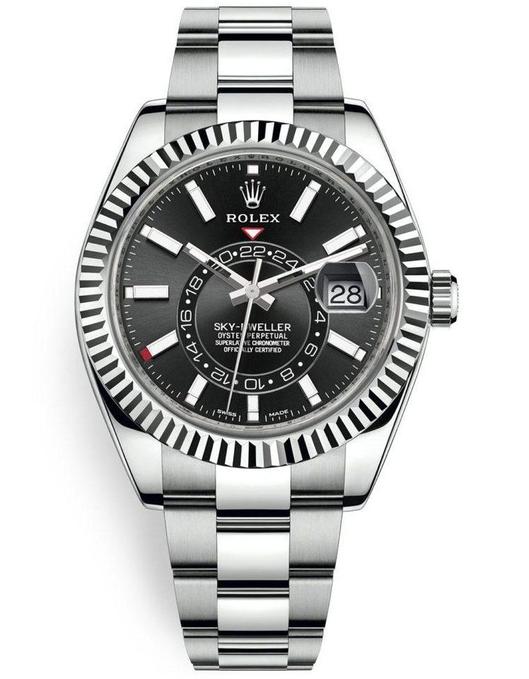Rolex Sky-Dweller 42mm Steel and White Gold