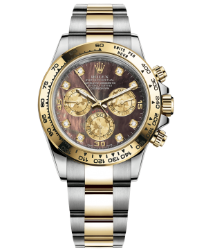 Rolex Cosmograph Daytona 40mm Steel and Yellow Gold