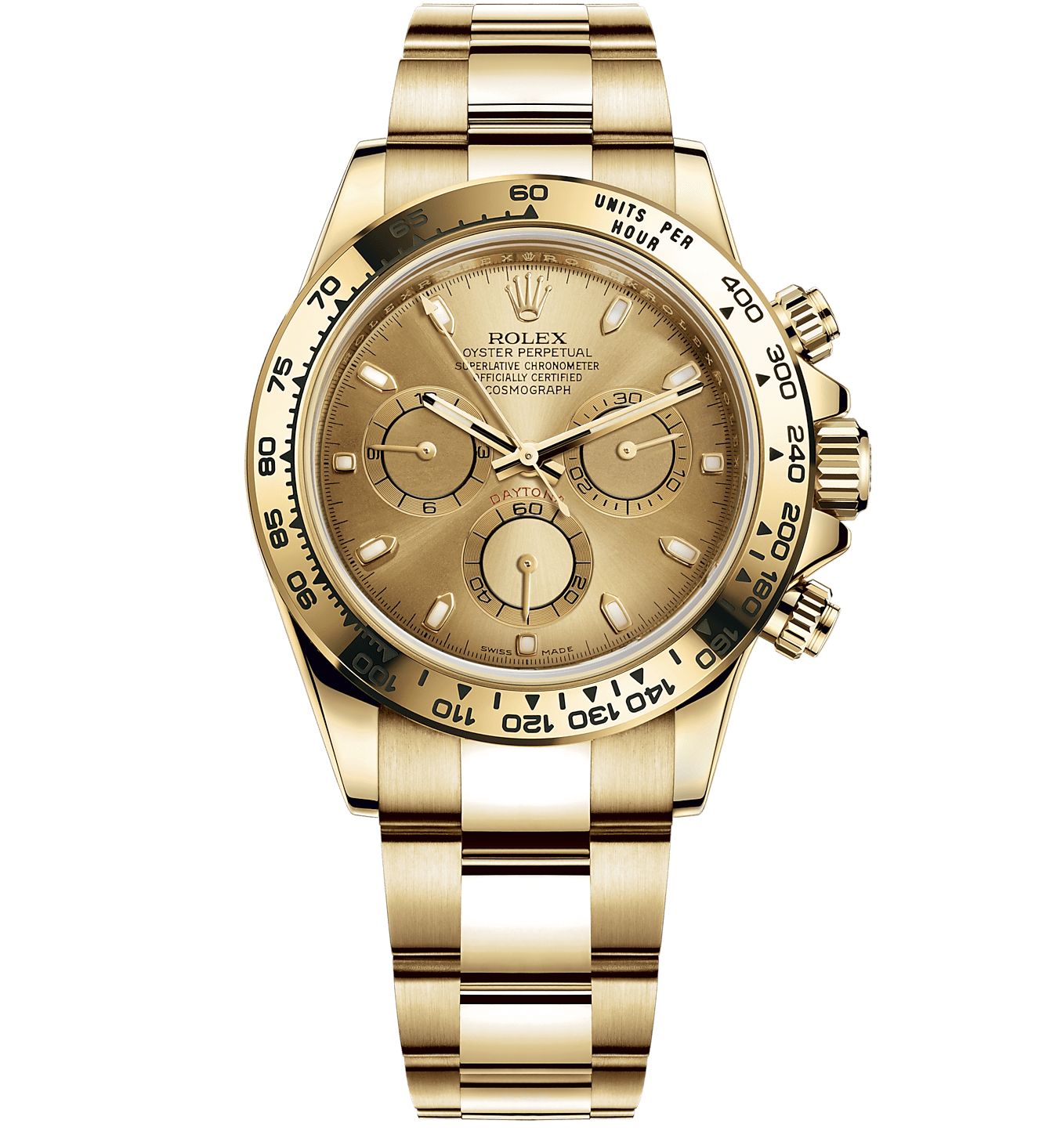 Rolex Cosmograph Daytona 40mm Yellow Gold