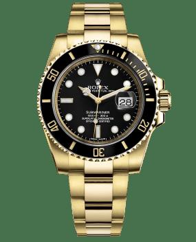 Rolex Submariner Date 40mm Yellow Gold Ceramic