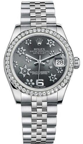 Rolex Datejust 31mm Steel and White Gold