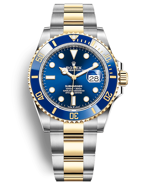 Rolex Submariner Date 41 mm Steel and Yellow Gold