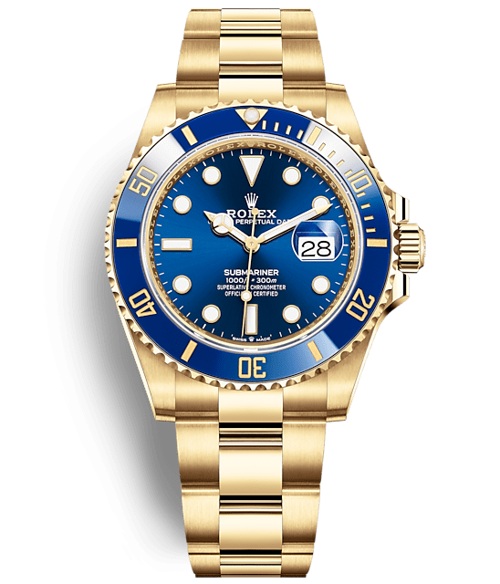 Rolex Submariner Date 41 mm Yellow Gold