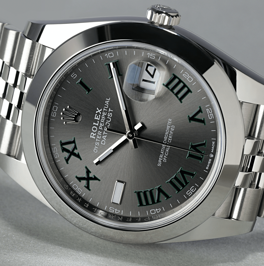 ROLEX DATEJUST 41MM STEEL 126300