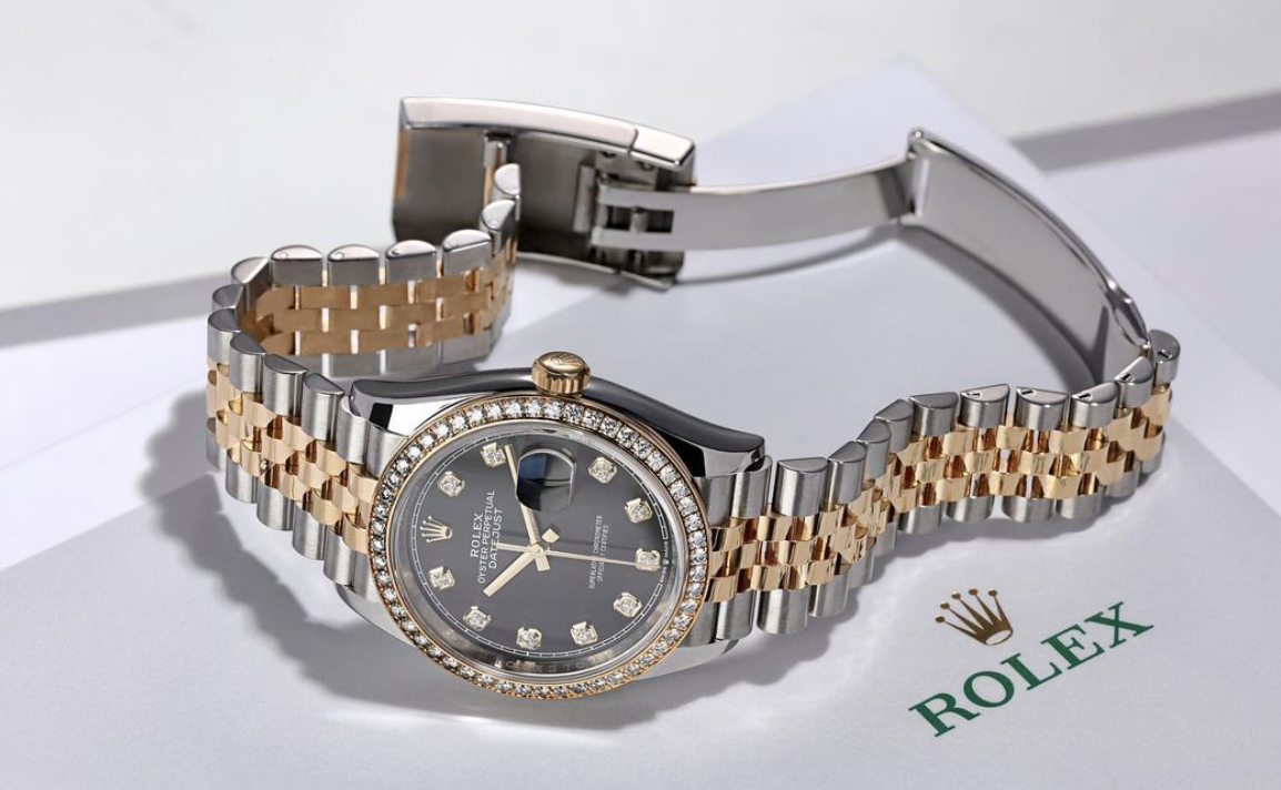 ROLEX DATEJUST 36MM STEEL AND YELLOW GOLD 126283RBR