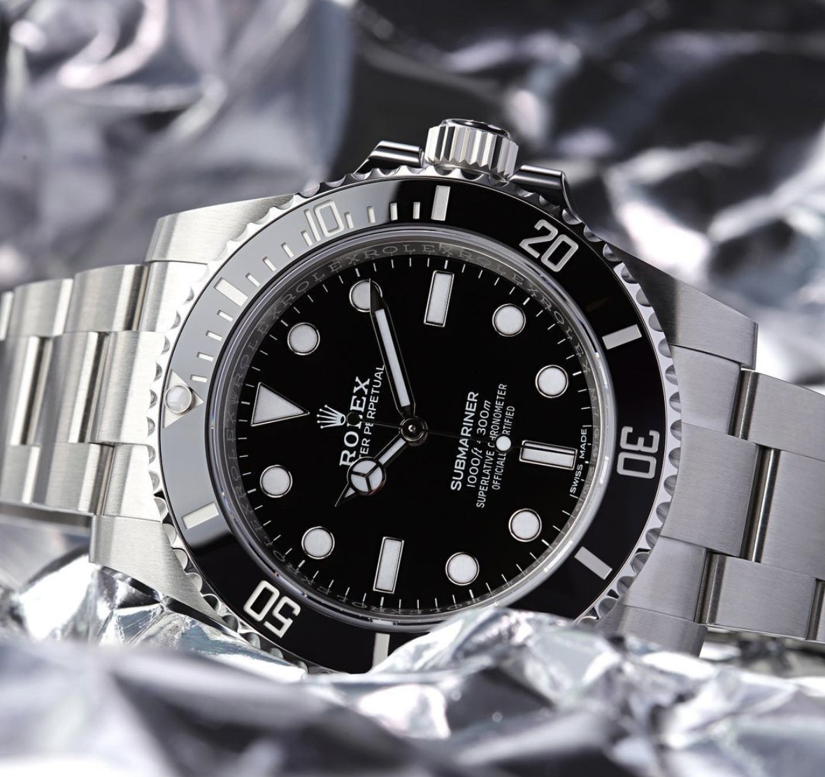 ROLEX SUBMARINER 40MM STEEL 11406