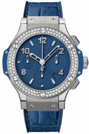Hublot Big Bang 41mm Dark Blue Diamonds